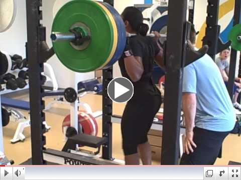 Elana's Squat PR - Summer Training