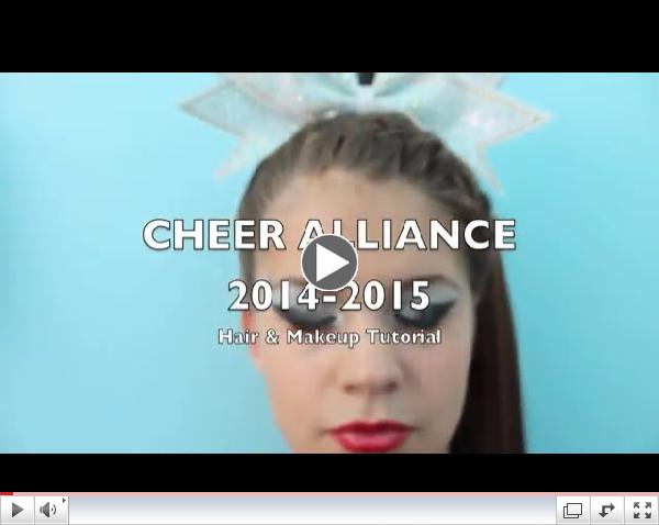 Cheer Alliance Hair & Makeup 2014-2015