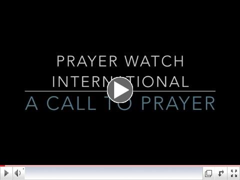 Call to Prayer: The Vision