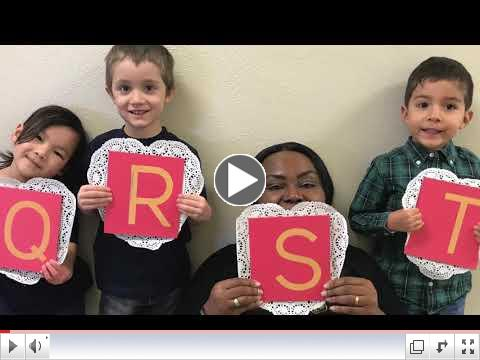A  Valentine's Video from our JK Students!