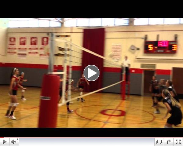 O'Neill vs Herrick 8th grade girls' volleyball, Oct. 10, 2014