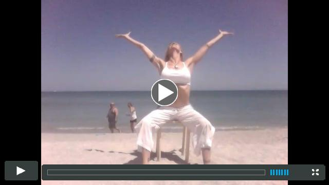 GYROKINESIS® on the beach with Elizabeth Holland