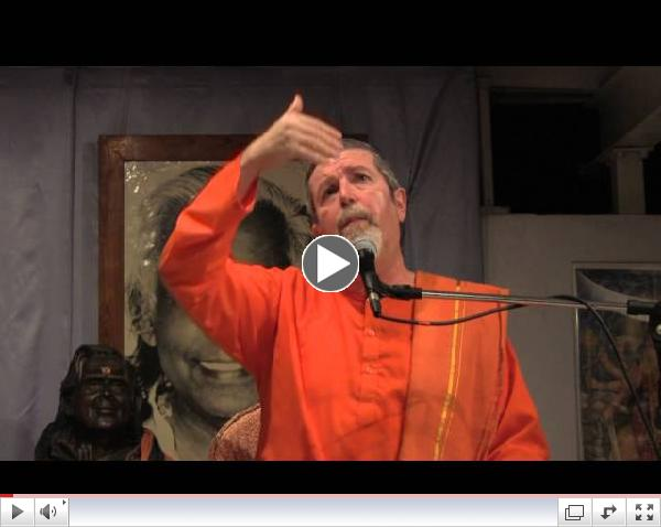 Swami Swaroopananda discusses the process of achieving Samadhi.