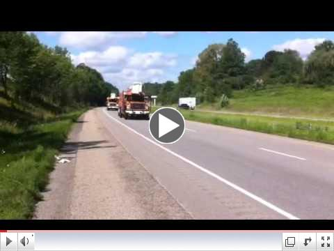 Tree Crews Heading East on I-70