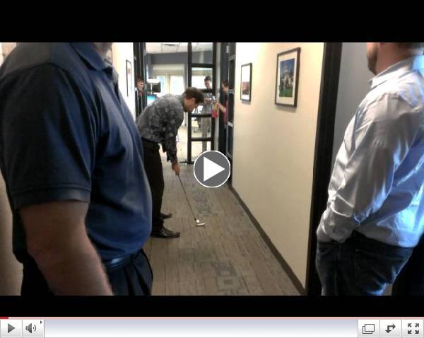 Hass - CIO Puttz for Bucks winning putt - July 12, 2013