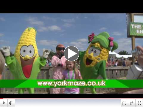 York Maze TV Advert 2017