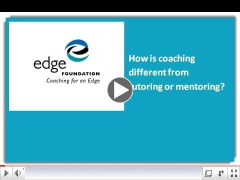 A coach is not a tutor