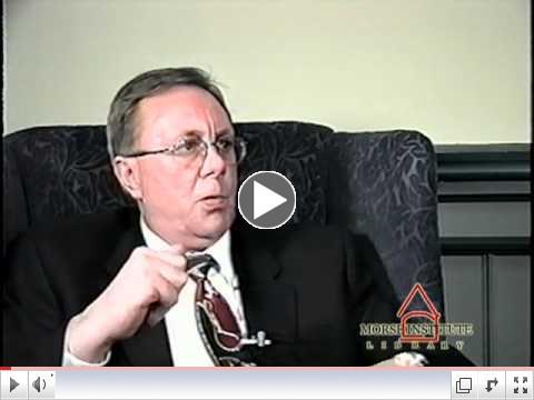 Christensen Vietnam War veteran Natick Veterans Oral History Project