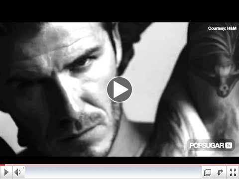 David Beckham's Shirtless H&M Super Bowl Ad Preview