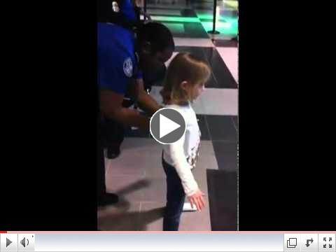 6 Year Old Girl Groped By TSA