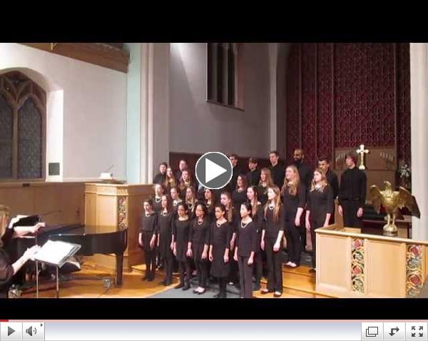 St. Peter's Tour Choir Concert - Part 1 of 2 - Feb. 7 2015