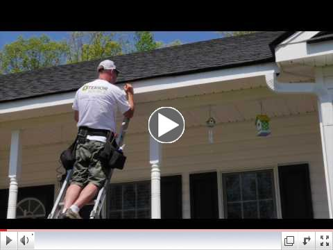 How LeafGuard Gutters Are Installed