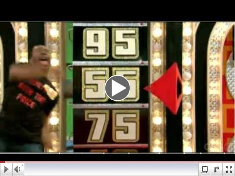 Contestant breaks the big wheel on The Price Is Right