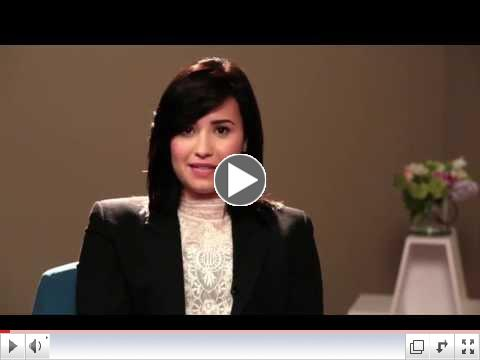 National Children's Mental Health Awareness Day Honorary Chairperson Demi Lovato