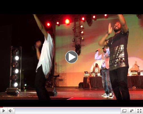 J Moss and 21:03 Perform Hit Medley at 2014 V103 For Sisters Only in Atlanta
