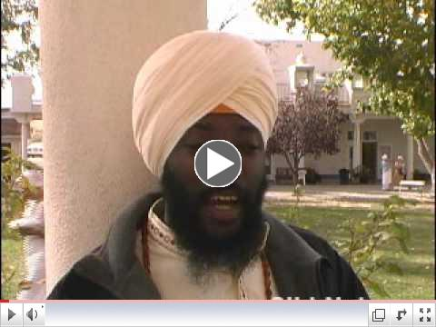 Siri Chand Singh: Being a Sikh