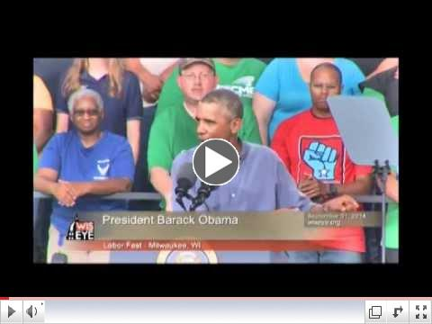 Morning Minute: President Obama Speaks at Labor Fest