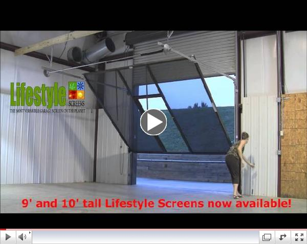 garage door screensTransform Your Garage To Versatile Space For Work or Play On Demand