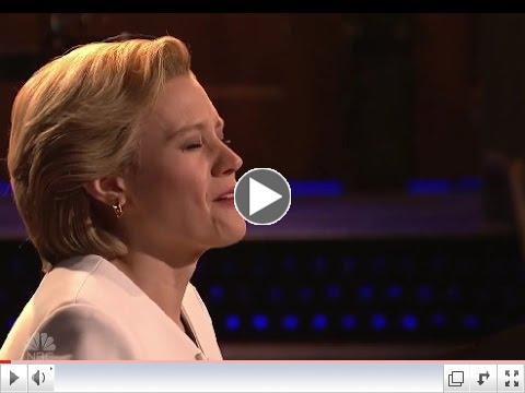 Kate McKinnon as Hillary Clinton Sings 'Hallelujah'