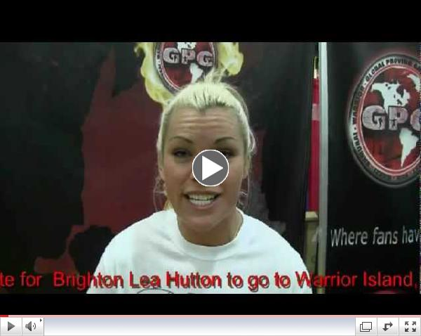 New Zealands  Brighton Lea Hutton Warrior Island Tryout Video for Global Proving Ground