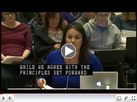 Councilor Essaibi-George at School Committee Meeting