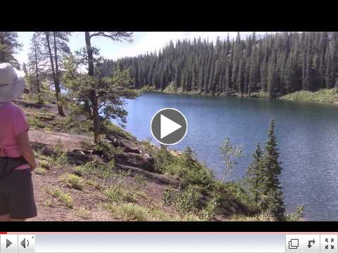 Hike to Lake Meridien in Crested Butte, CO