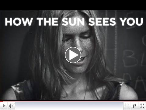 How the sun ages you...