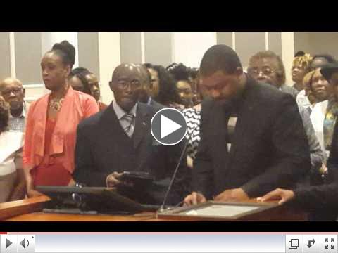 AL Jackson Makes comments at Jacksonville City Council Meeting honoring Charlie McClendon
