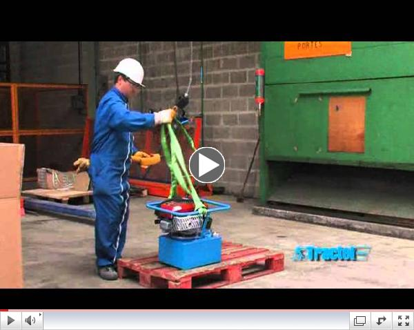 Minifor portable electric winch applications