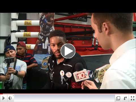 Willie Monroe, Jr roundtable interview
