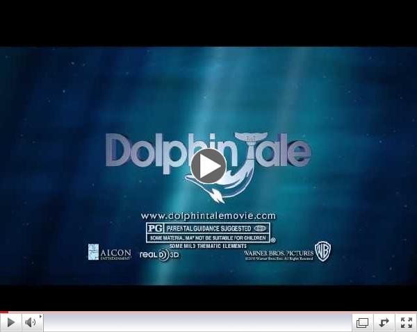 Exclusive Dolphin Tale Featurette: