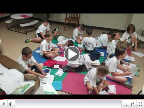Summer Camp, Day 4 - June 22, 2017 - Italian Class