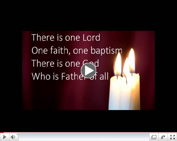 There is one Lord TAIZE HD on screen lyrics