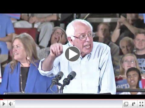Bernie Sanders rally in Portland with 28,000 people in attendance