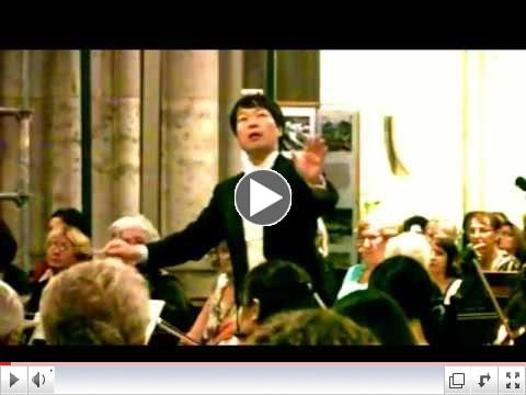 HIDEAKI HIRAI conducts his own work INTERMEZZO Opera Princess from the Moon rec. in Vienna, 2012