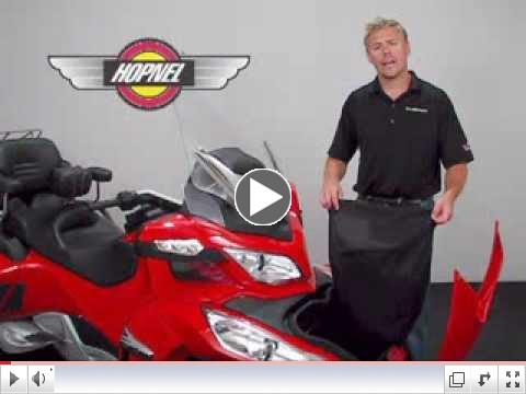 Front Trunk Liner for Can-Am Spyder RT