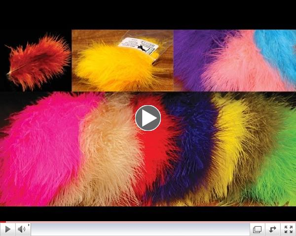 Understanding Fly Tying Marabou Feathers - Woolly Bugger, Blood Quill and Extra Select