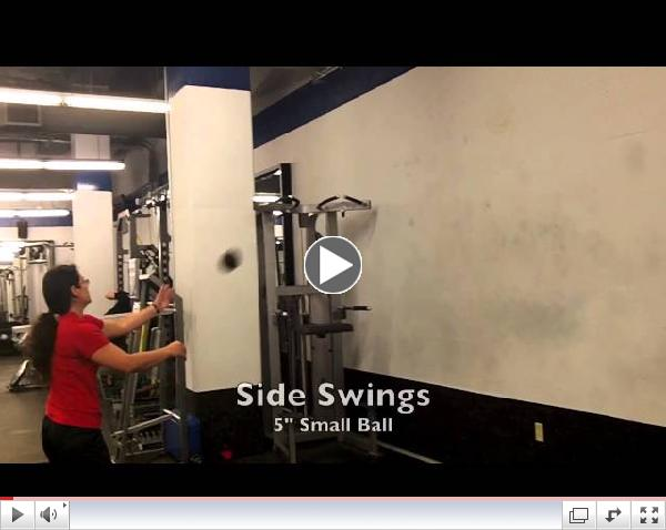 Plyo Med Ball Rotations- Power For Throwers and Swinging Sports