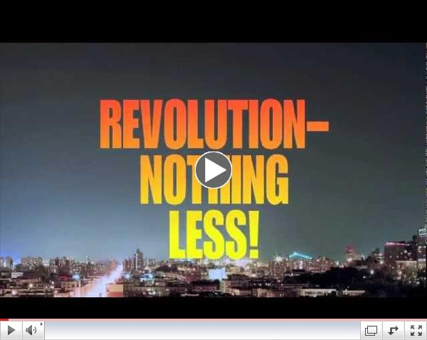 Watch the Chicago  trailer for BA Speaks: REVOLUTION- NOTHING LESS!