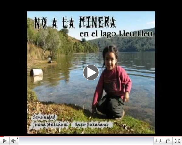 Mujeres mapuche dicen NO a la minera