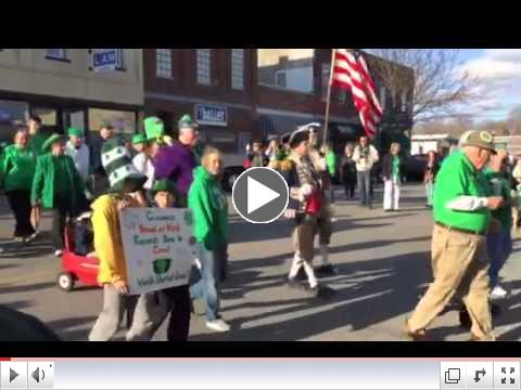 World's Shortest & Smallest St. Patrick's Day Parade!