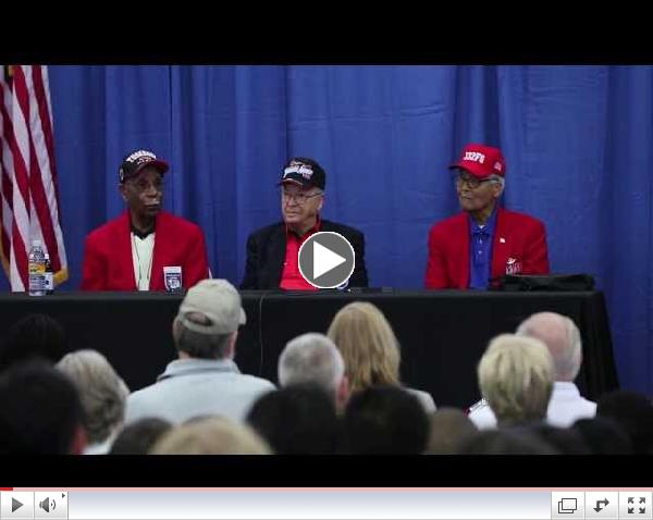 Tuskegee Airmen at Fantasy of Flight - Message for the Young - Short