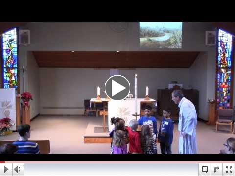Children's Sermon - Places of Baptism